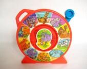 vintage 1991 MATTEL SEE-N-SAY Lil Zoo Animals Sound Toy
