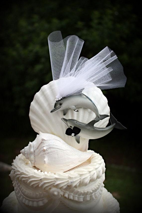 Mr Mrs Brown Bling Cake Topper