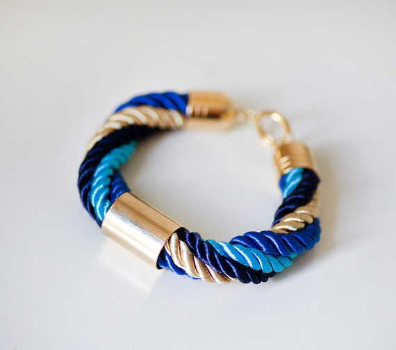 Four colors Nautical Cord Bracelet