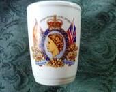 Queen Elizabeth II Commemorative Beaker - 1953