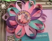 Personalized Care Bears Bottle Cap Bow