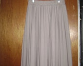 Accordion Pleated Taupe/Gray Skirt