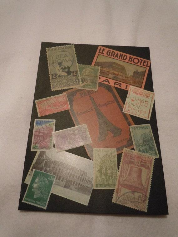 Old European Passport Cover