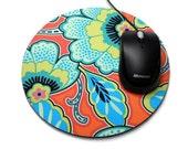 Floral Mouse Pad Computer Mousepad Mandarin