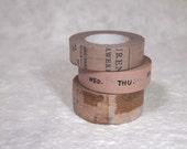 masking tape 3 rolls set  beige (iy002)