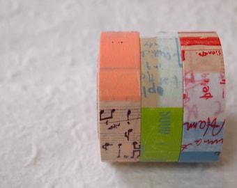 NEW COLOR    masking tape 3 rolls set  (45204-01 A color 15mm)