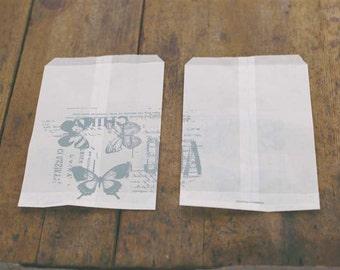 NEW    glassine bag by Inoue Yoko (butterfly)