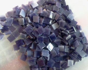 AMETHYST PURPLE VIOLET Opal 100 3/8 Stained Glass Mosaic Tiles A31