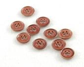 Copper Tone Vintage Buttons