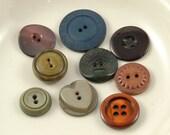 9 Odd Vintage Buttons