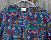 Native Indian inspired blouse- Moving sale I have to downsize for my move 30 percent off coupon code MOVING30