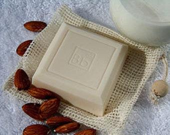 Almond Cream hand & body soap 4 oz.