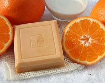 Goatmilk Orange hand & body soap 4 oz.