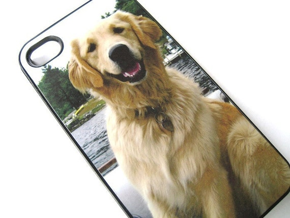 Personalized YOUR dog - Dog Lover iPhone Case 4/4S Case  - iPhone Cover - Your Pet Photo - Personalized iphone case