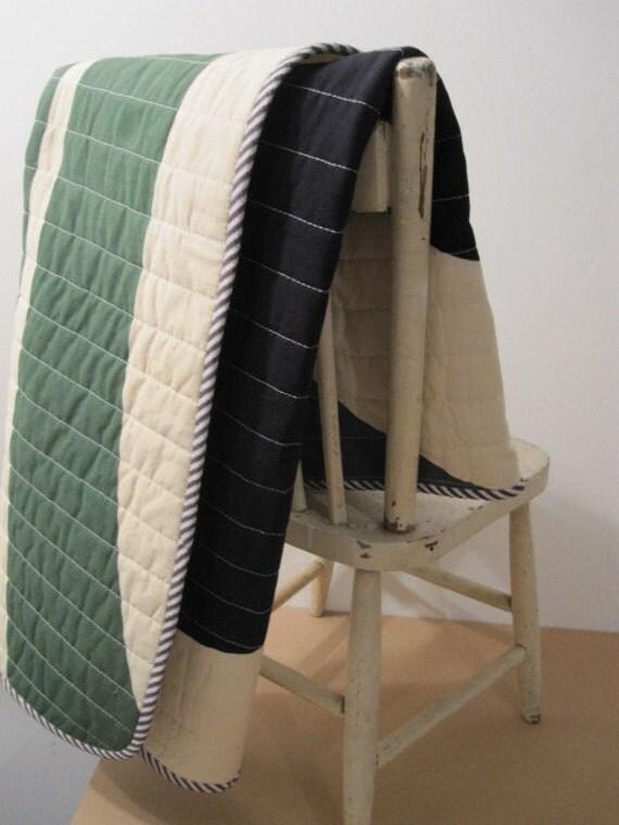 Vintage Marimekko fabric baby/kids' quilt