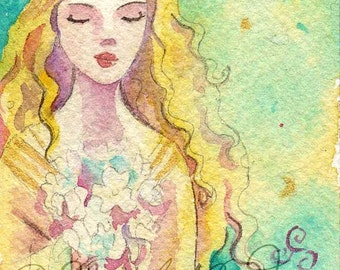 Persephone Limited edition ACEO/ ATC print