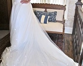 Vintage Kate Middelton Style Wedding Dress Large Wedding Dress