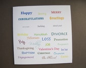 The ULTIMATE ALL OCCASION Greeting Card (10)