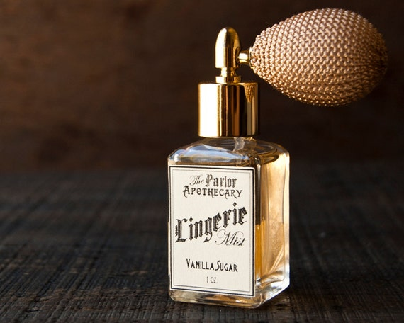 Lingerie Mist - Vanilla Sugar Perfume - Atomizer Bottle Spray 1 oz.