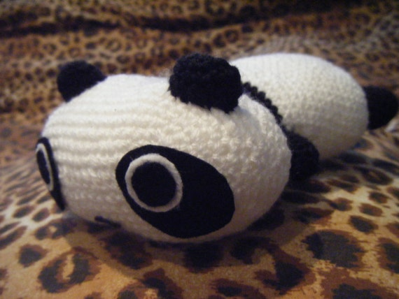 Lazy panda plush crochet amigurumi Tarepanda by ...