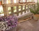 Pair of '2' Vintage Screened Window Frames - Rustic Farmhouse Garden Decor - Check out the Last Photo for Ideas