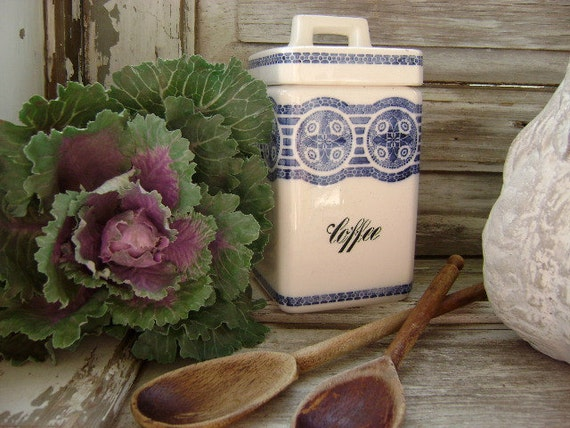 Vintage Coffee Canister - Neckar - Made in Germany