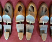 Vintage Wood Shoe Keepers (Rochester Shoe Tree Co.NY) Large