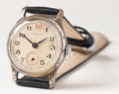Soviet ladies wristwatch Pobeda with red number 12, 50s