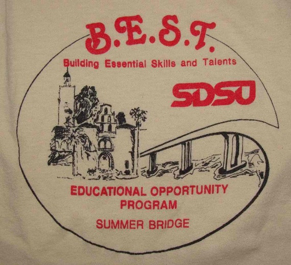 Vintage 80s San Diego State UNIVERSITY T shirt