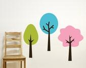 Tree Wall Decals - Playroom Wall Decals - Nursery Wall Decal  - Colorful Tree Vinyl Wall Decals