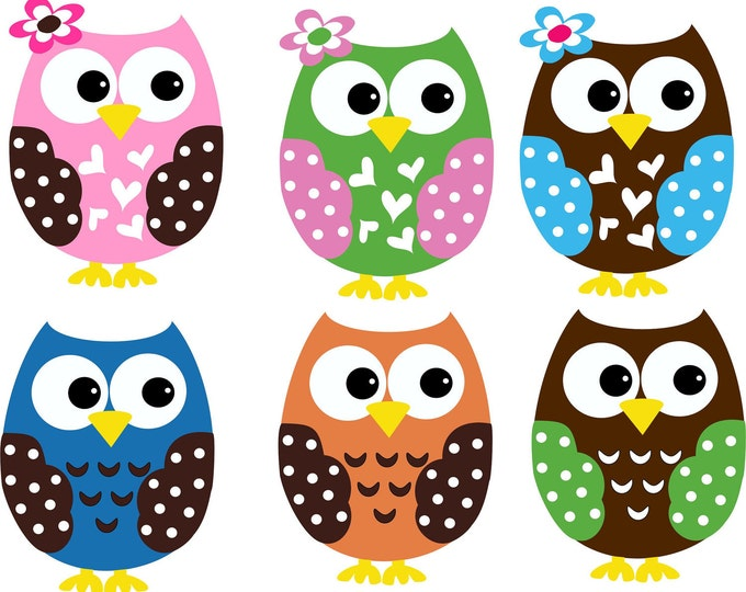 Owl Decal Customized for your Nursery - 35 Colors Available
