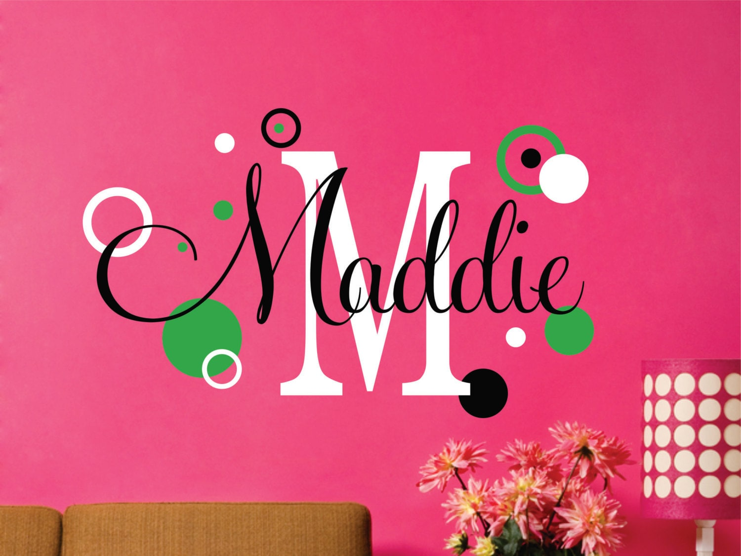 Name decal personalized decal name wall decal name zoom amipublicfo Choice Image