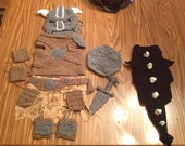 Skyrim Black DRAGON Dog Cosplay Costume. Made to order
