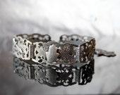 Vintage Arabian Eastern Bracelet Souvenir Hamsa Fatima Hand Fatma