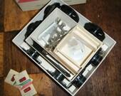 Vintage Singer Sewing Machine Special Stitches Attachments Complete Set  Class 603  400 500 machines Oak steam punk sewing craft Supplies