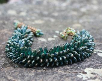 Green Dagger Bracelet
