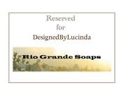 Reserved for DesignedByLucinda - 16 Soap Samples