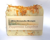 Peppermint Grapefruit All Natural Soap