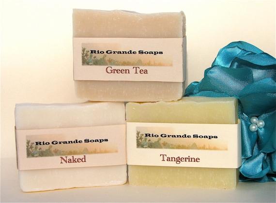 Naked, Green Tea, & Tangerine Soap