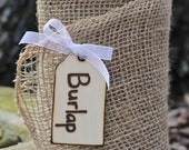 Rustic Burlap Ribbon 5 Yards For Wedding And Home Decoration, Chair Bows, Rustic, Cottage, Woodland, Shabby Chic Weddings