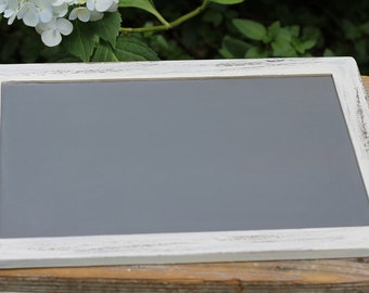 Rustic Wedding Chalkboard Sign, Custom Color, 7 X 10