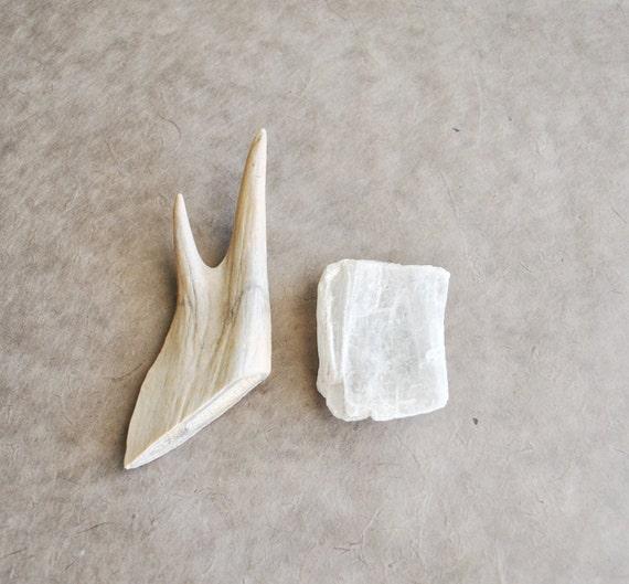 1 selenite crystal slab specimen
