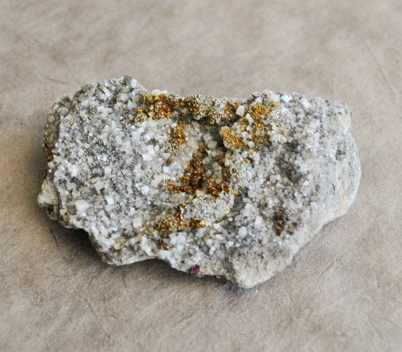 1 pc calcite with pyrite specimen