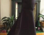 Black Fishtail Skirt. UK Size 12.