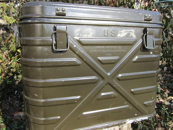 Vintage Us Military Cooler 1968
