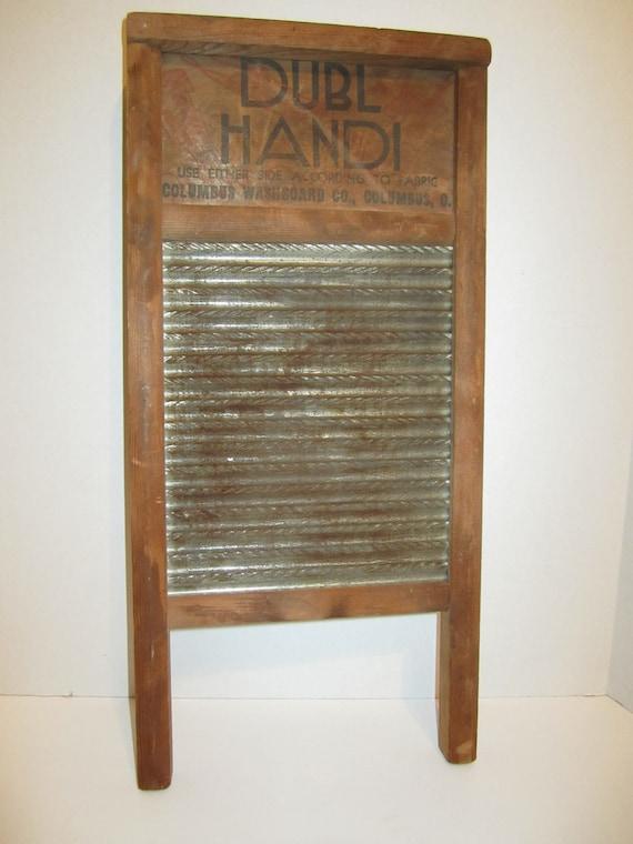 Vintage DUBL Handi Wash Board