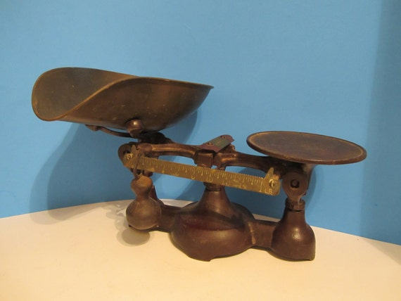 Vintage Penn Cast Iron Balance Scale RESERVED FOR STACY