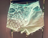 Mermaid Vintage Shorts