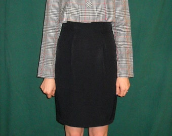 1980's faux 2 piece dress casual-office