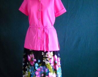 1960s Montgomery Wards Womens 2 pc skirt set